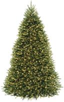 National Tree 10-Foot Dunhill Fir Hinged Tree Pre-Lit with 1,200 Clear Lights