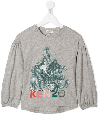 Kenzo Kids Animal Friends top