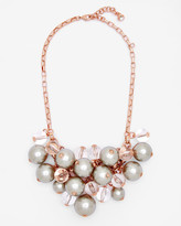 Ted Baker Pearl Cluster Necklace Gold