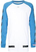 Off-White long-sleeved T-shirt