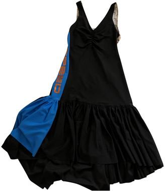 Marine Serre Black Polyester Dresses