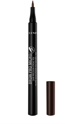 Rimmel Brow Pro Micro 24Hr Precision-Stroke Pen 1Ml 004 Dark Brown