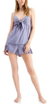Jenni Printed Cami & Shorts Pajama Set, Created for Macy's