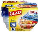 Glad® Entree Food Storage Containers - 25oz 5ct