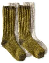 "L.L. Bean L.L.Bean Merino Wool Ragg Socks, 12"" Two-Pack"