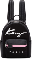 Kenzo Black Logo Essentials Backpack