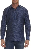 Robert Graham Tern Digital-Textured Sport Shirt