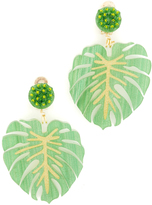 Mercedes Salazar Carmen Miranda Clip On Earrings