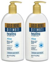 Gold Bond Ultimate Healing Skin Therapy Lotion, 14 oz, 2 pk