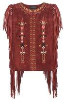Isabel Marant Maxime embroidered suede vest