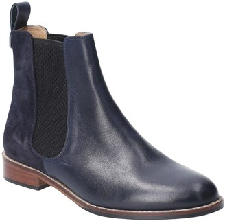 Hush Puppies Chloe Ankle Boots - Navy