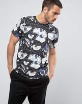 Weekday Alan Fantasymap T-shirt