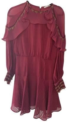 La Maison Talulah Burgundy Dress for Women