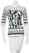 Peter Pilotto Striped Crew Neck Top