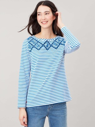 Joules Harbour Luxe Top - Stripe