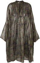 Mes Demoiselles Cyclamen shirt dress