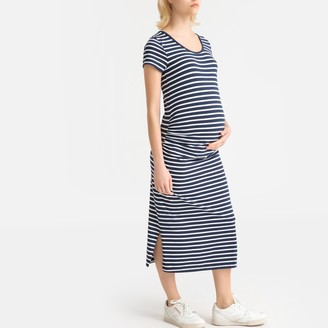 La Redoute Collections Short-Sleeved Maternity Dress