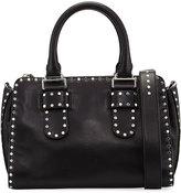 Rebecca Minkoff Midnighter Medium Satchel Bag, Black
