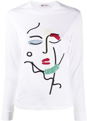 Ports 1961 long sleeved T-shirt