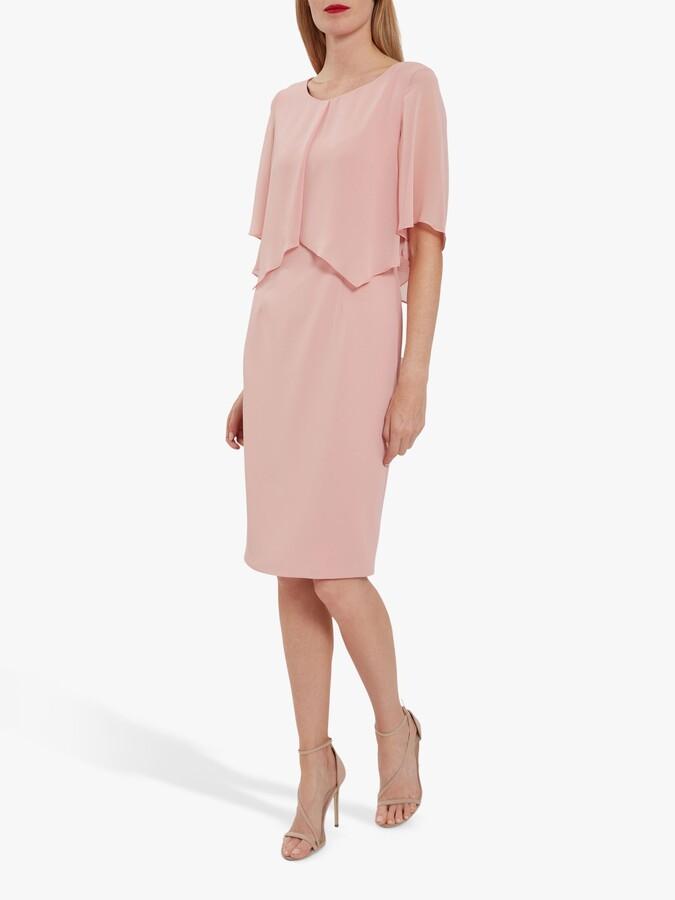Thumbnail for your product : Gina Bacconi Wanita Chiffon Cape Dress