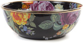 Mackenzie Childs MacKenzie-Childs Flower Market Black Everyday Bowl