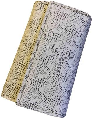 Goyard White Cloth Purses, wallets & cases