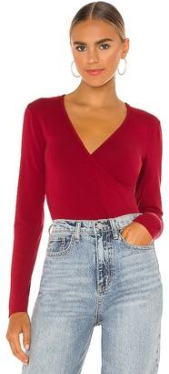 Bobi Draped Modal Jersey Bodysuit
