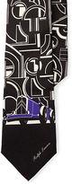 Ralph Lauren Art Deco Silk Twill Tie