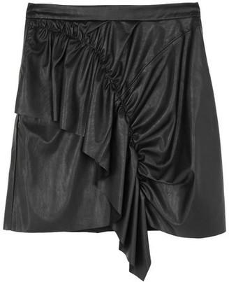 Black Label Knee length skirt