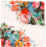 Gucci floral print scarf - women - Silk - One Size