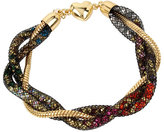 Betsey Johnson Confetti Multi Twist Tube Bracelet