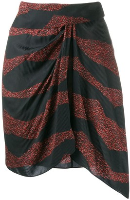 Isabel Marant wrap front short skirt