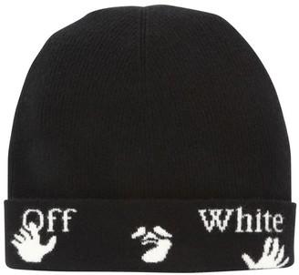 Off-White Logo beanie