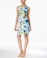 INC International Concepts Floral-Print Sheath Dress, Created for Macy's