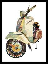 Soundslike HOME Collage Art Vespa