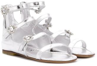 Simonetta TEEN strappy gladiator sandals