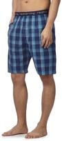 Red Herring Blue Striped Pyjama Shorts