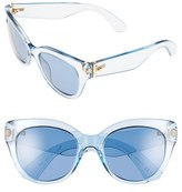 Kate Spade Women's 'Sharlots' 52Mm Sunglasses - Blue