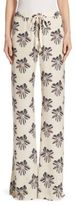 Alexis Welsey Floral-Print Pants