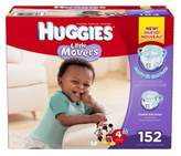 Huggies Little Movers Size 4 152-Count Disposable Diapers