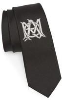 Alexander McQueen Men's Insignia Silk Tie