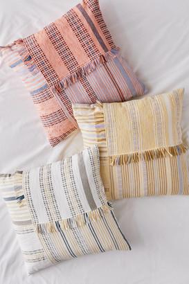 Eugenia Oversized Woven Throw Pillow