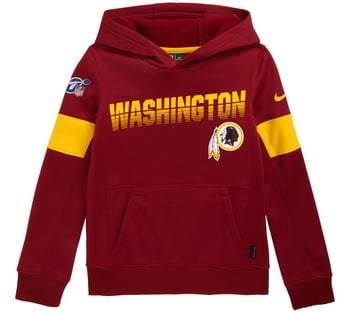 newest be46e 5ae10 NFL Logo Washington DC NFL Team Therma Dri-FIT Hoodie