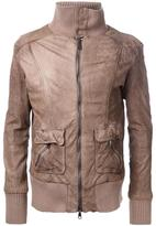 Giorgio Brato patch pocket jacket - men - Leather - 50