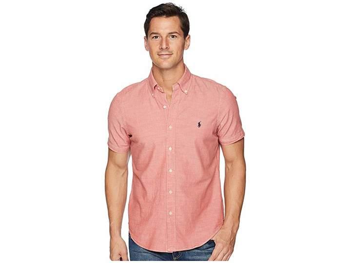 Polo Ralph Lauren Chambray Short Sleeve Sport Shirt