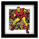 Marvel Heroes Iron Man Panels Framed 5D Photo