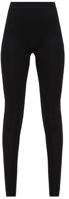 Rick Owens High-rise Stretch-jersey Leggings - Black