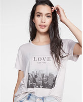 Express one eleven love nyc boxy tee