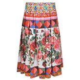 Dolce & Gabbana Majolica Pleated Skirt