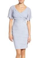 Adrianna Papell Pleat Sheath Dress
